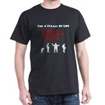 Four Stages of Life Dark T-Shirt