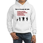 Four Stages of Life Hooded Sweatshirt