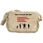 Four Stages of Life Messenger Bag