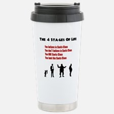 Four Stages of Life Stainless Steel Travel Mug