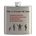 Four Stages of Life Flask