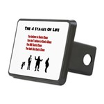 Four Stages of Life Rectangular Hitch Cover