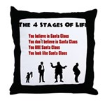 Four Stages of Life Throw Pillow