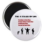 Four Stages of Life Magnet
