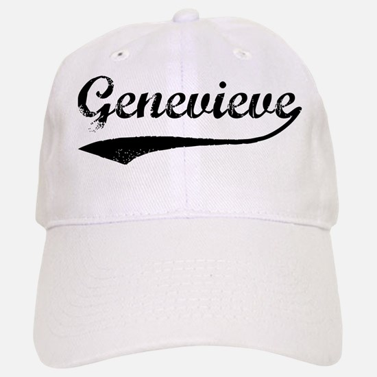 Vintage: Genevieve Baseball Baseball Cap