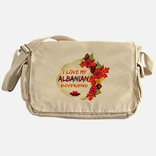 Albanian Boyfriend designs Messenger Bag