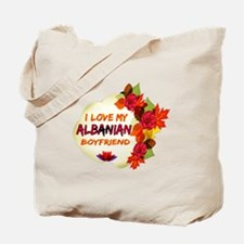 Albanian Boyfriend designs Tote Bag
