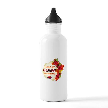 Albanian Boyfriend designs Stainless Water Bottle