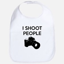 I shoot people - photography Bib