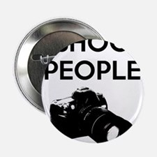 "I shoot people - photography 2.25"" Button"