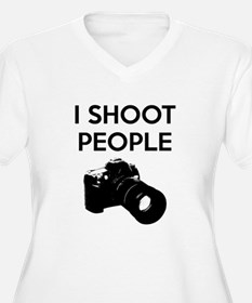 I shoot people - photography T-Shirt