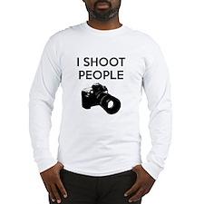 I shoot people - photography Long Sleeve T-Shirt