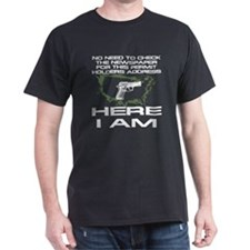 Here I Am Camouflage Nation T-Shirt