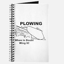 Snow Plowing Wing It Journal