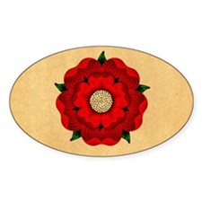 Red Rose Of Lancaster Decal