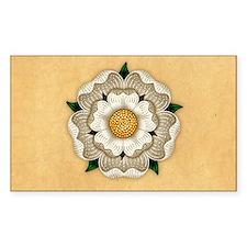 White Rose Of York Decal