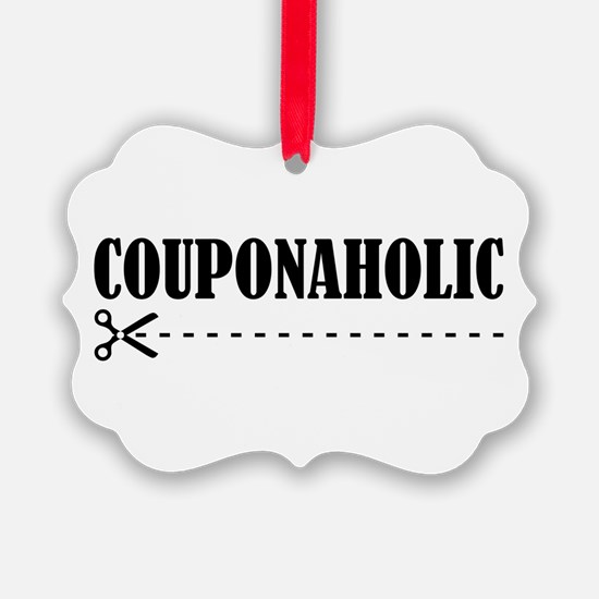 COUPONAHOLIC Ornament