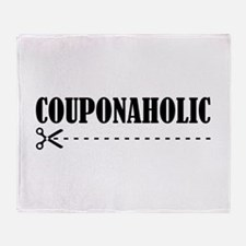 COUPONAHOLIC Throw Blanket