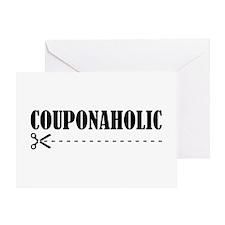 COUPONAHOLIC Greeting Card