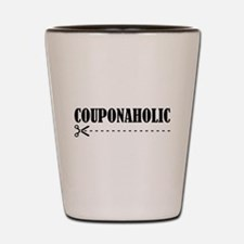 COUPONAHOLIC Shot Glass