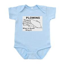 Funny Plow Infant Bodysuit