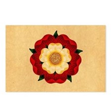 Tudor Rose Postcards (Package of 8)