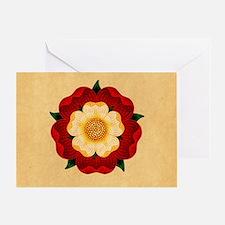 Tudor Rose Greeting Card