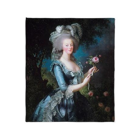 Marie Antoinette Portrait Throw Blanket