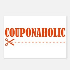 COUPONAHOLIC Postcards (Package of 8)