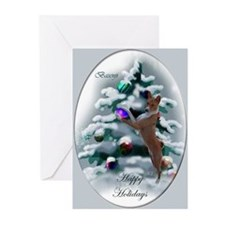 Basenji Christmas Greeting Cards (Pk of 20)
