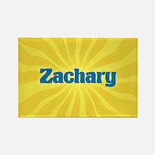 Zachary Sunburst Rectangle Magnet