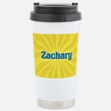 Zachary Sunburst Stainless Steel Travel Mug
