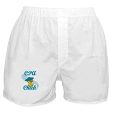 CPA Chick #3 Boxer Shorts