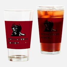 Natural Born Zombie Killer Drinking Glass