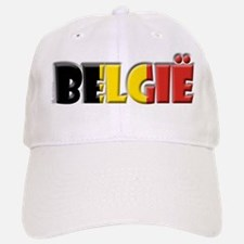 Word Art Flag Belgie Baseball Baseball Cap