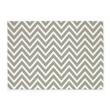 Grey white chevron rug 5x7 Rugs