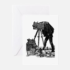 Vintage Photographer Greeting Cards (Pk of 20)