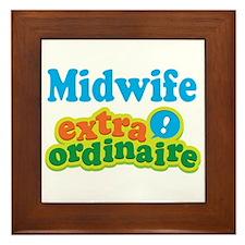 Midwife Extraordinaire Framed Tile