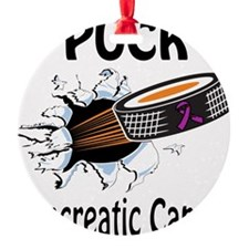 Puck Pancreatic Cancer Ornament