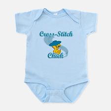 Cross-Stitch Chick #3 Infant Bodysuit