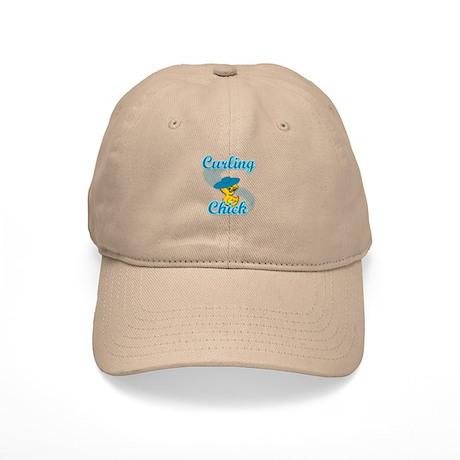 Curling Chick #3 Cap