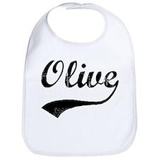 Vintage: Olive Bib
