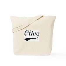 Vintage: Olive Tote Bag
