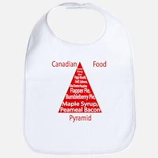 Canadian Food Pyramid Bib
