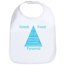 Greek Food Pyramid Bib