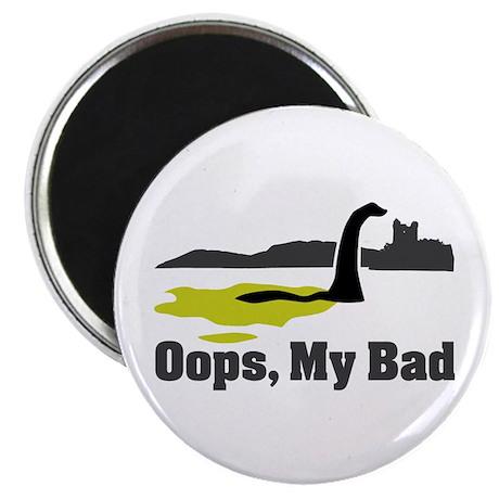 """Oops, My Bad 2.25"""" Magnet (100 pack)"""