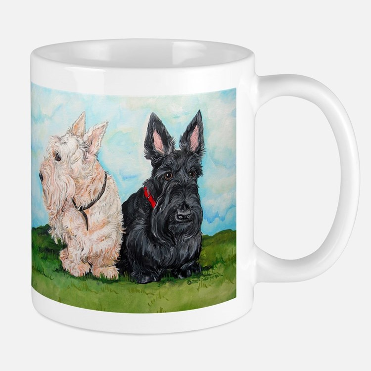 Cute Scottish terrier Mug