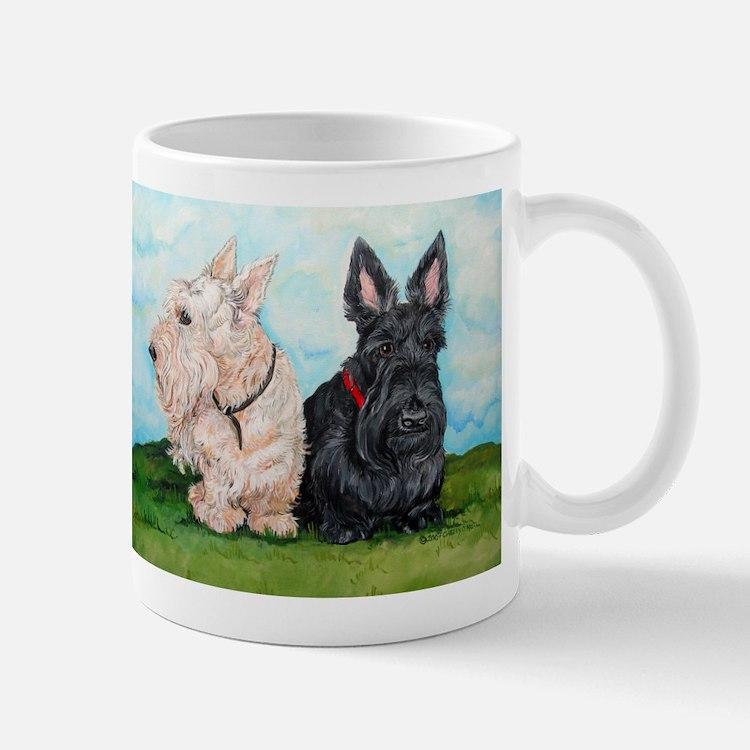 Cute Wheaten scottish terrier Mug