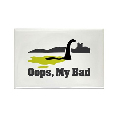 Oops, My Bad Rectangle Magnet (100 pack)