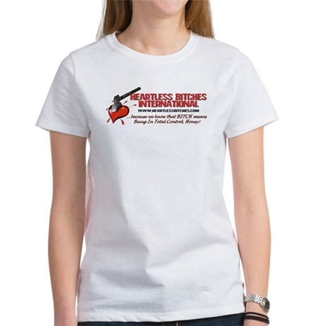 Women's T-Shirt - front and back